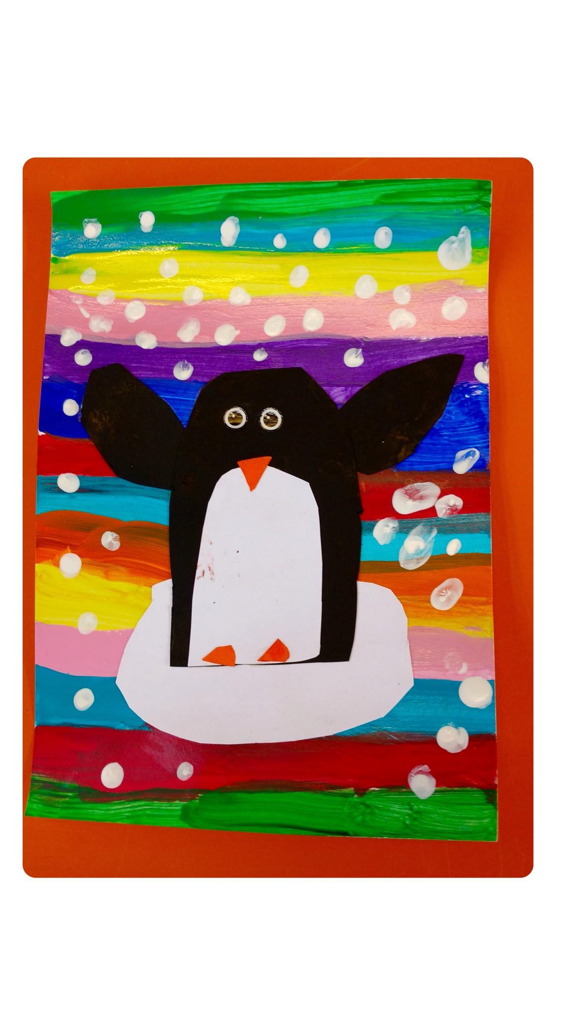 Un pingouin au p le nord ecole sainte marie le pouliguen - Pingouin rigolo ...